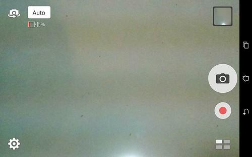 User Interface กล้องของ ASUS ZenPad 7.0 (Z370CG)