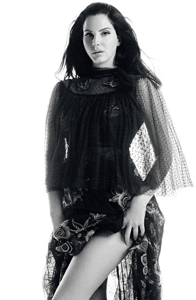 Лана Дель Рей — Фотосессия для «Vogue» TR 2015 – 1