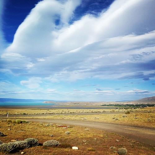 That Patagonia sky! #elcalafate #lagoargentino #patagonia #provinciasantacruz #argentina