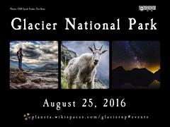 Social Web Meetup August 25, 2016 @ Glacier National Park @GlacierNPS @NatlParkService @NPCA #FindYourPark #FYPyes
