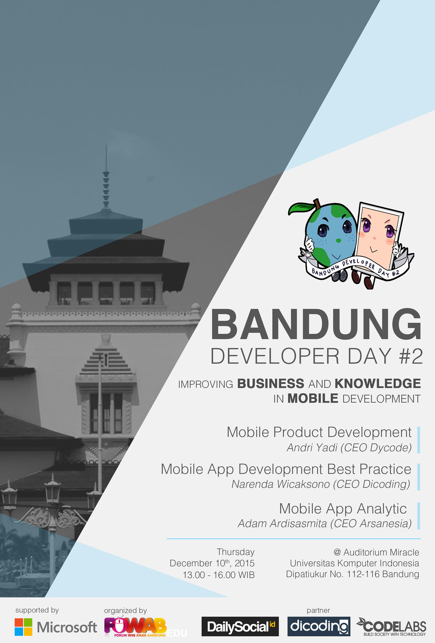 Bandung Developer Day