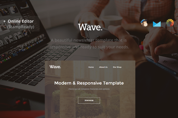 Creativemarket Wave - Business Email - Builder