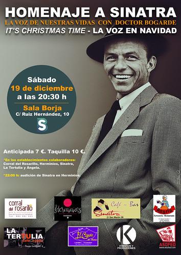 Homenaje a Sinatra. 19 de octubre Sala Borja