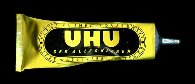 Alte Uhu-Tube
