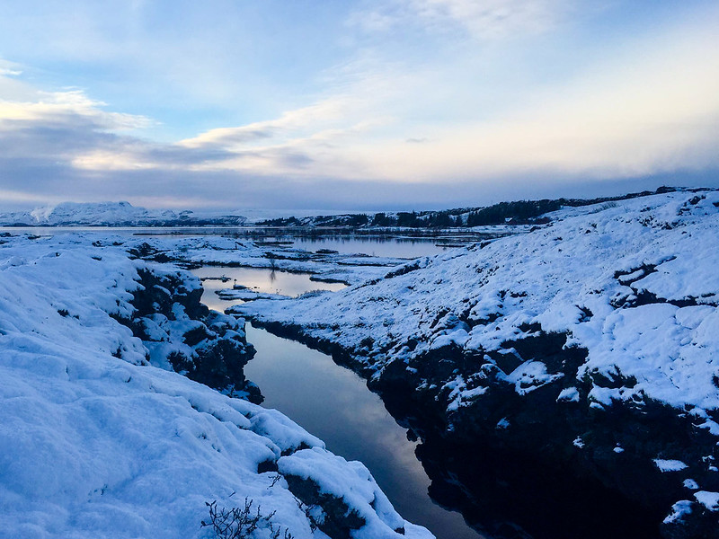 Silfra in Thingvellir National Park in Iceland