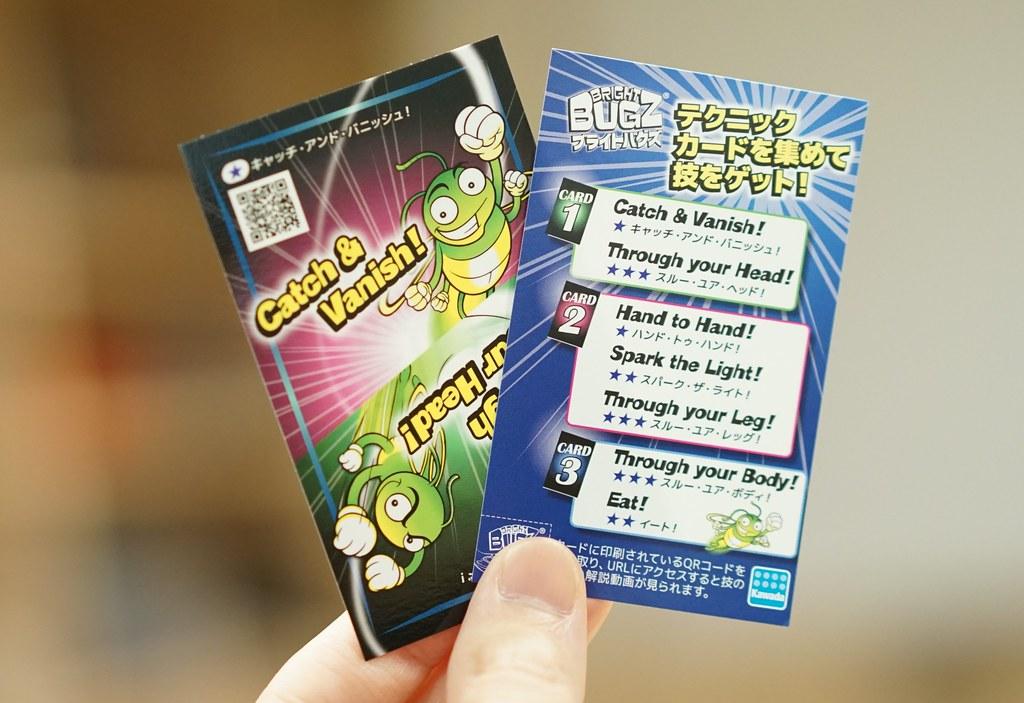 BRIGHT BUGZ(ブライトバグズ)テクニックカード