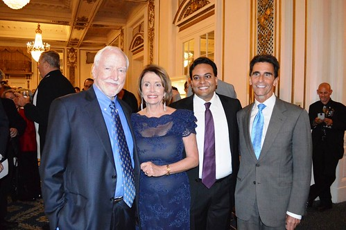 "Congresswoman Pelosi attends Shanti's ""Compassion is Universal"" Event"