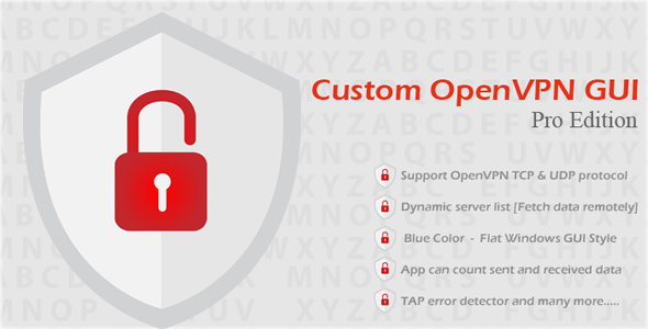 Codecanyon – Custom OpenVPN GUI Pro Edition