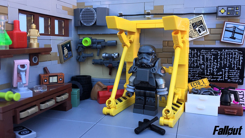 Fallout 4 Inside Red Rocket Truck Stop Special Lego