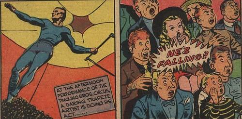 Comic Panel - He's Falling!