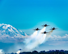 Blue Angels Heading Out on Seafair Friday