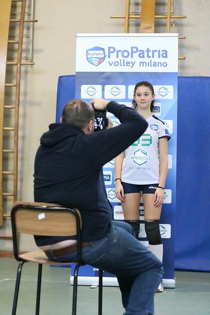 3 Dicembre 2016 Shooting fotografico  - Backstage Pro Patria Volley Milano