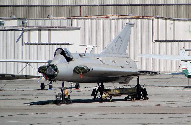 SAAB Draken J35F N543J