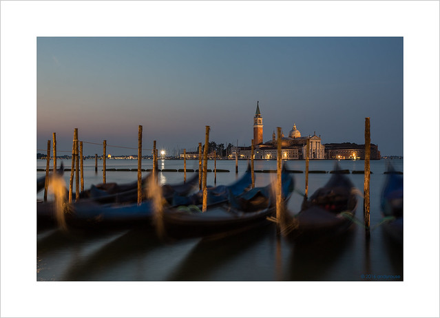 Gondolas at dawn (Explore 03/12/16 #71)