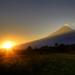 Volcán Popocatépetl por Francisco Soto