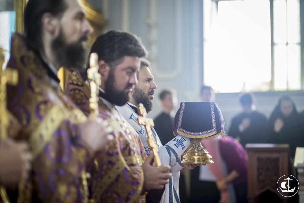 14 августа 2015, Происхождение честных древ Животворящего Креста Господня / 14 August 2015, Procession of the Precious Wood of the Life-giving Cross of the Lord