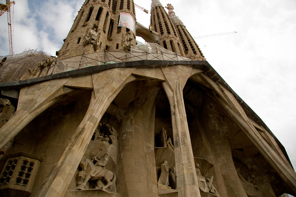 Outside Sagrada Familia