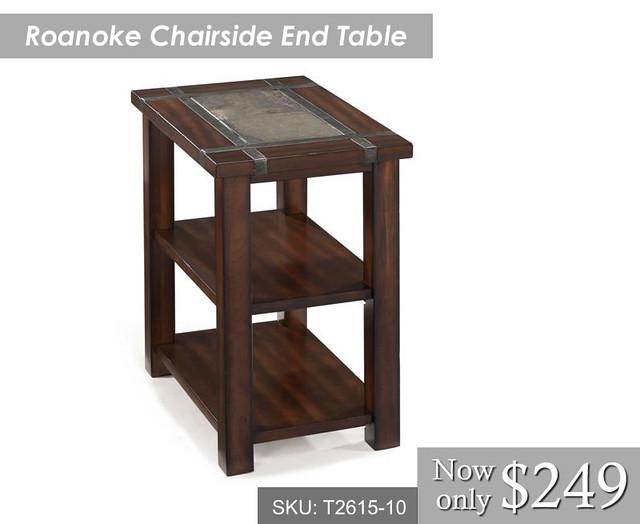 Roanoke Chairside End Table