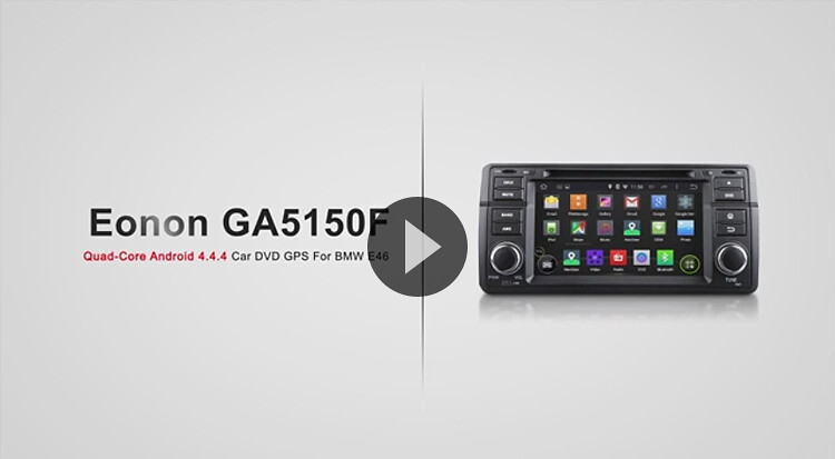 Stunning Video Demo of GA5150F Quad-Core Car DVD Player for BMW
