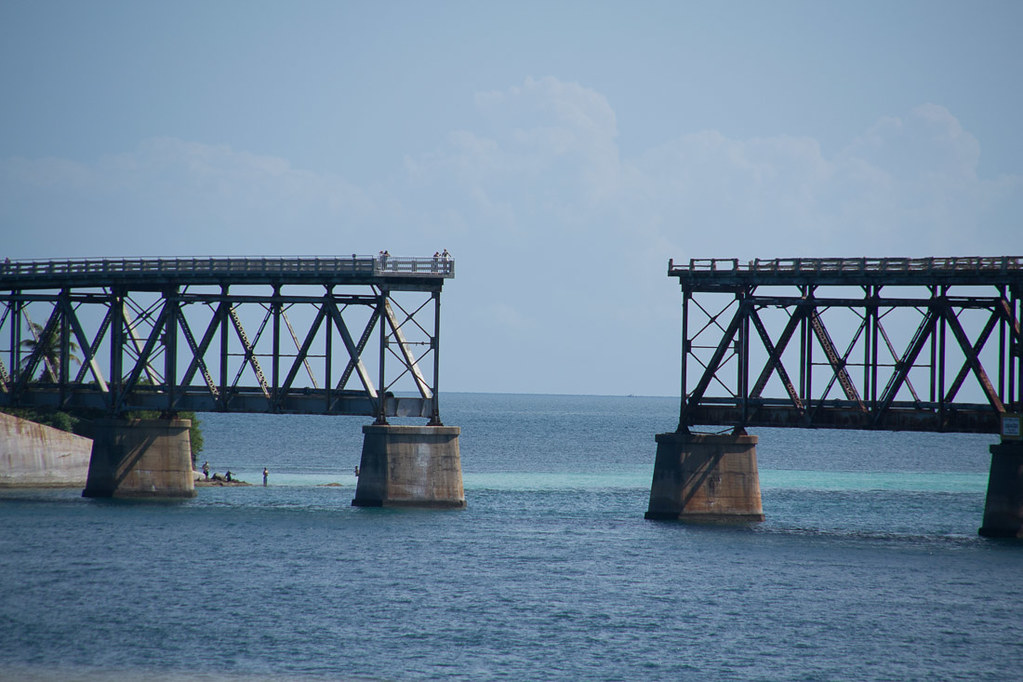 Gaps in old railroad to Key West