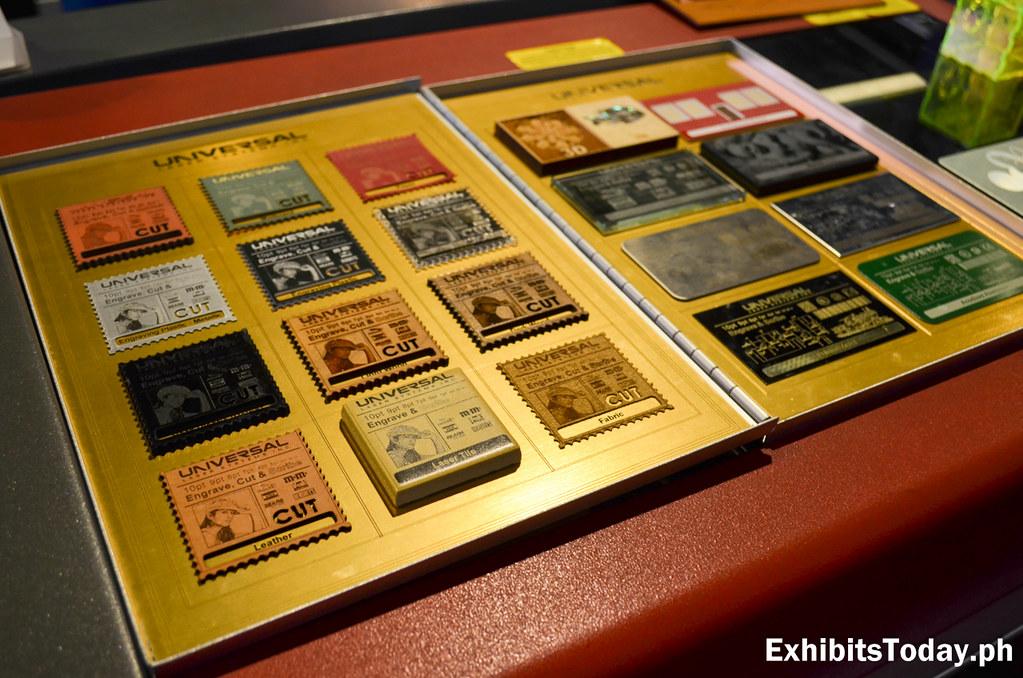 Stamp Print on wood