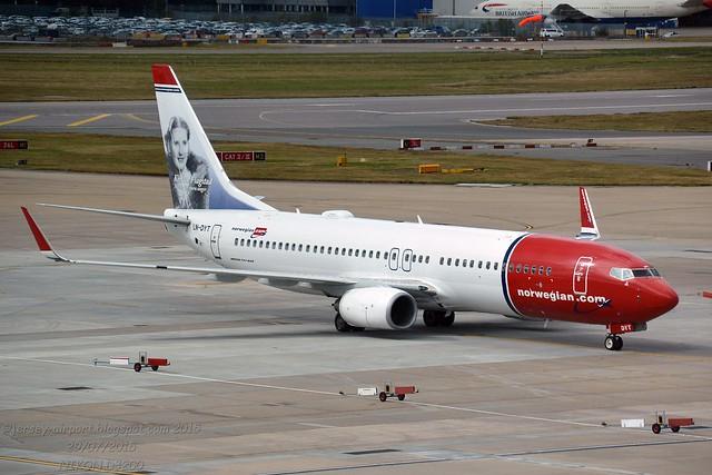 LN-DYT Boeing 737-8JP(WL)