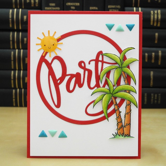 Party by Jennifer Ingle #JustJingle #STAMPtember #SimonSaysStamp #Cards