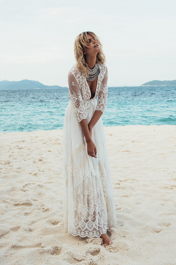 Dreamy Bohemian Wedding Dresses