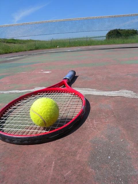 Photo:tennis court By 5thLuna