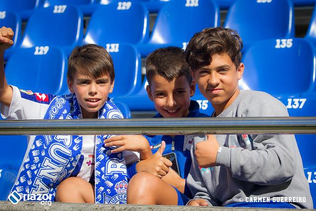 La afición en el Deportivo - Espanyol