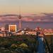 Berlin - Skyline Panroama Tiergarten by claudecastor