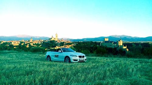 Ruta por la provincia madrileña y segoviana a bordo de un cabrio