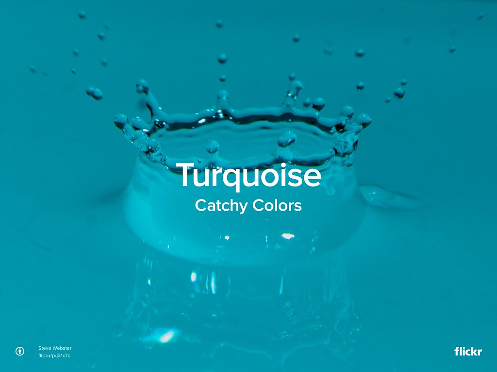Catchy Colors: Turquoise