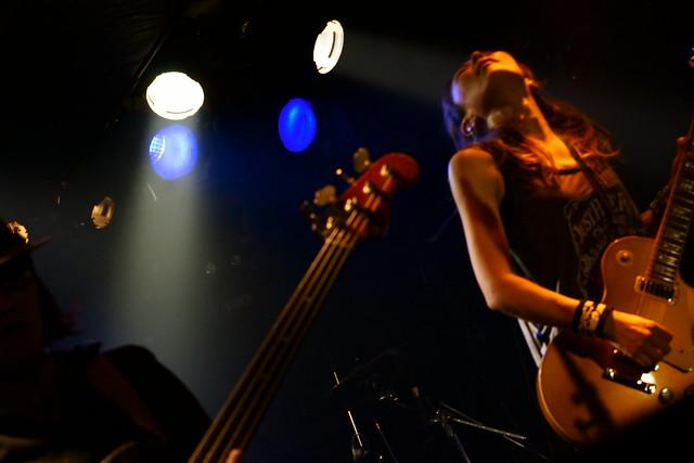 Juz live at Outbreak, Tokyo, 14 Oct 2015. 070