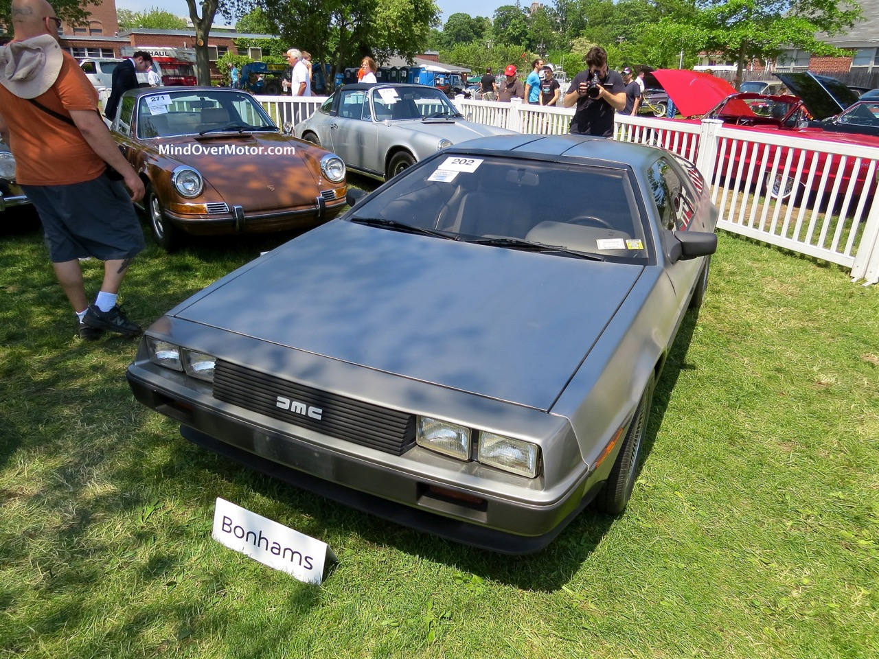 Turbocharged Delorean Front