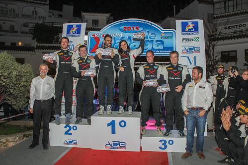 Podio Copa Kobe Motor 2015