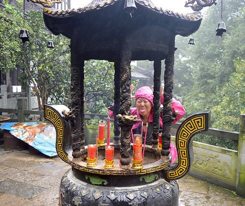 12- 5 ott. 15 Hangzhou Tempio Taoista Baopu