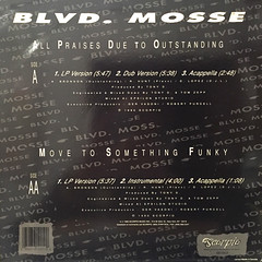BLVD. MOSSE:ALL PRAISES DUE TO OUTSTANDING(JACKET B)