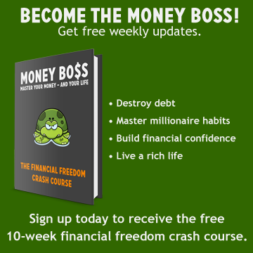 Money Boss sidebar opt-in