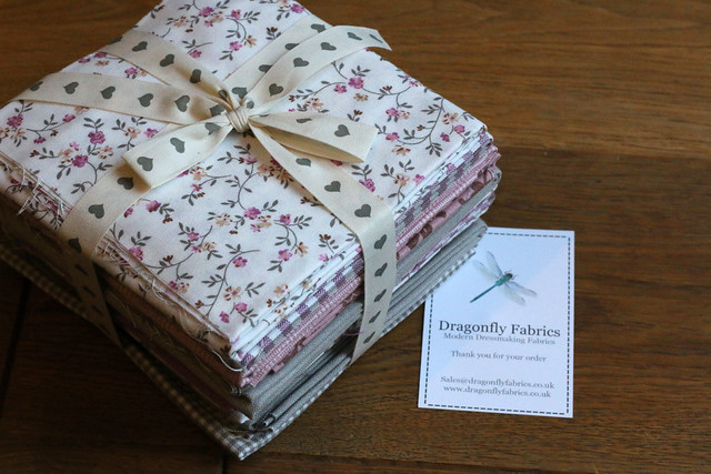 Dragonfly Fabrics Bundle for the SewBrum Raffle