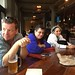 Happy hour after the march and rally. L R: citisven, norm and Pat G.