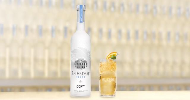 Bottle Belvedere 007 Spectre