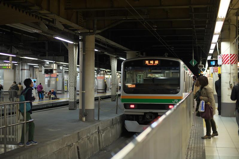 Tokyo Train Story 2015年11月