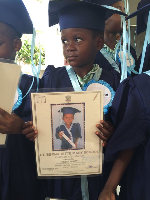 Edna graduates from KG3