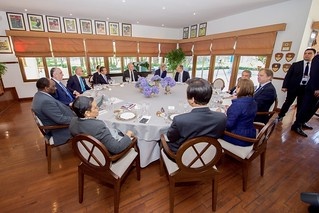 Secretary Kerry Shares Lunch With Fellow Foreign Ministers on Sidelines of G20 Summit in Turkey