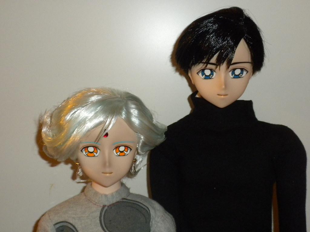 Sailor Moon Tuxedo Mask and Helios bjd doll  7ee1a3db40a2