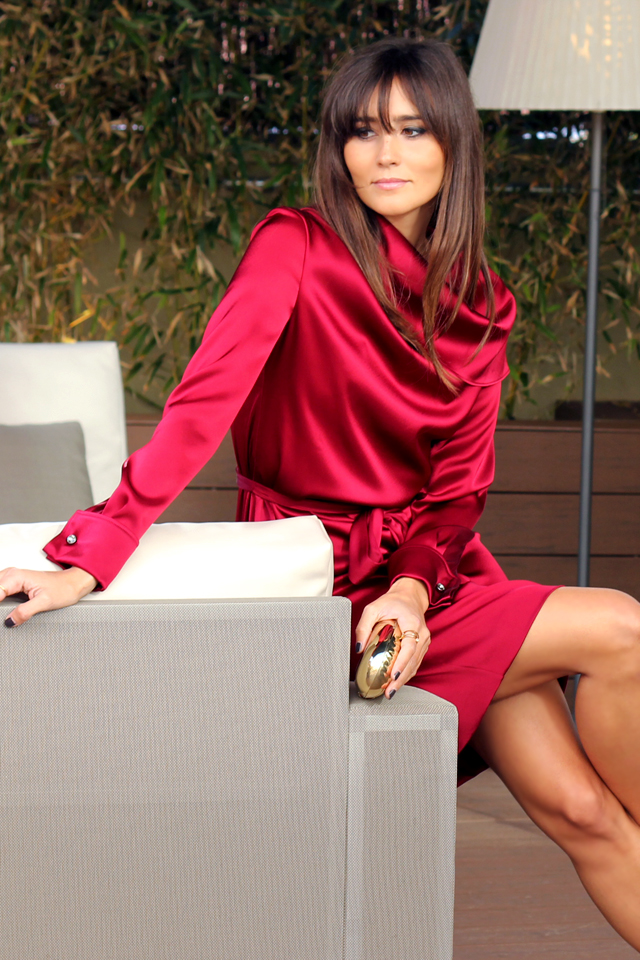 escarda red dress coohuco 18