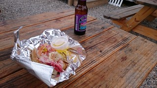 A lobster roll