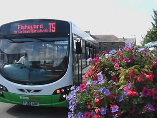 TrawsCymru T5 Wright Pulsar bus