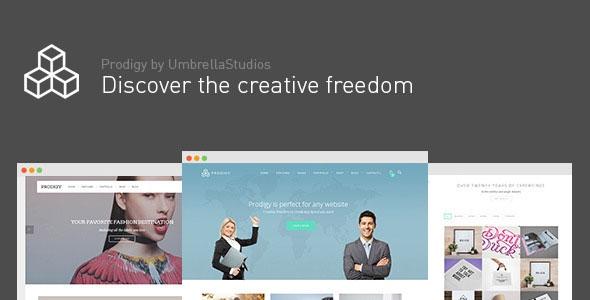 Themeforet Prodigy v1.2.4 – Impressive Multi-Purpose WordPress Theme